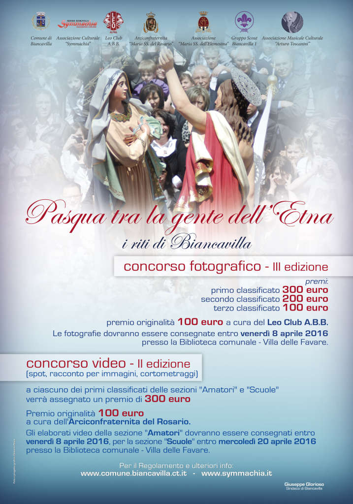 Concorso video-fotografico Pasqua 2016